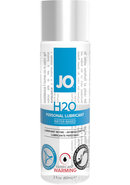 Jo H2o Water Based Warming Lubricant 2oz