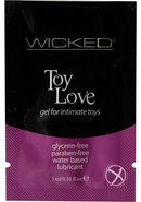 Wicked Toy Love Gel Foil Packs .10 Ounce 144 Each Per Bag
