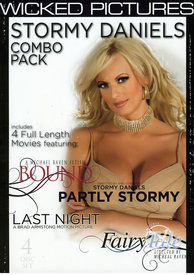 Stormy Daniels Combo Pack{4 Disc Set